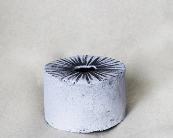 Modern ceramic round vase,pattern vase,scandinawian homeware,minimalist,raw.