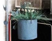 Modern ceramic bold hanging pot, house planter, minimalist, rustic, raw, storage pot, scandinavian style -medium