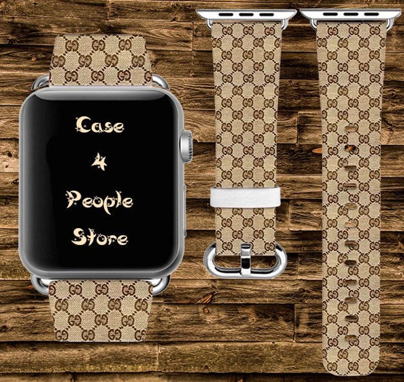 e4acb48f34b Inspired by GUCCI Apple Watch Band 42mm Fashion Watch Band