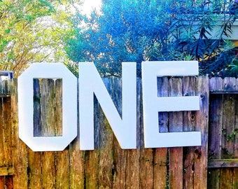 Large Foam letter, large foam number, Large free standing number, personalizable marquee letters, custom name free standing letter block.