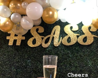 Extra large cutouts, calligraphy name sign, cursive monogram letters, personalized name sign, custom name sign, backdrop name letters, party