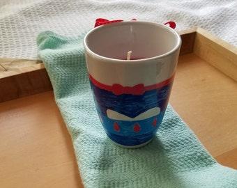 Disney Princess Teacup candle