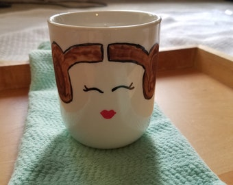 Princess Leia Candle