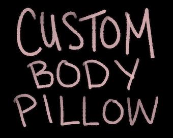 Custom Body Pillow | Etsy