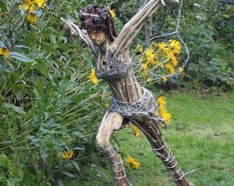 Angel Fairy Ecoart Large Garden Sculpture Ornament