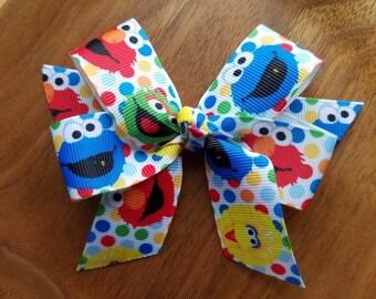 Sesame street bow | Etsy