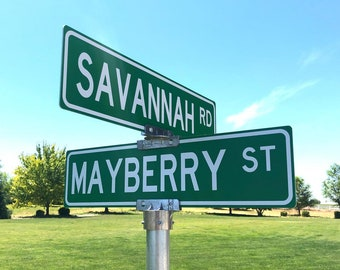 Personalized Street Signs >> Custom Street Sign Etsy