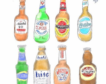 Illustrated Beers