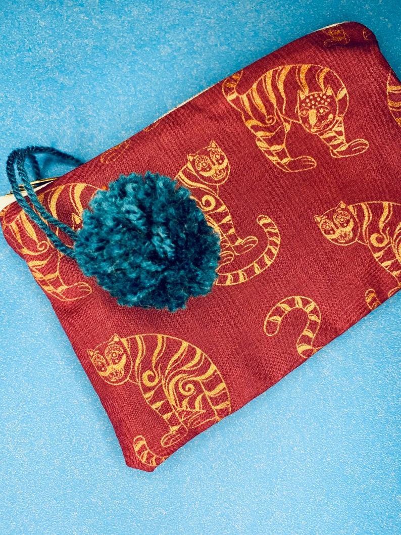 Golden Tiger pouchpencil casemakeup bag