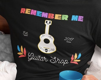 Disney Coco Inspired Remember Me Shirt - Day of the Dead - Día De Los Muertos - Awesome Subtle Disney Gift