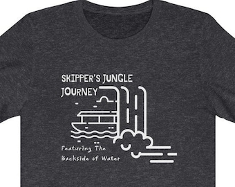 Disney Jungle Cruise (Jungle Journey) Inspired Unisex Shirt - Featuring The Back Size of Water! - Great Subtle Disney Gift