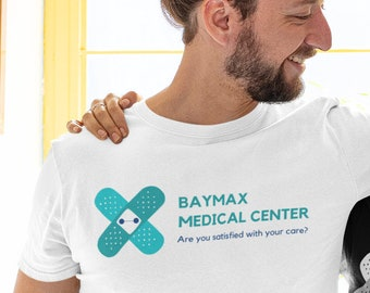 Disney Baymax - Big Hero Six Medical Clinic - Are You Satisfied With Your Care? - Unisex Shirt - Playful Disney Gift