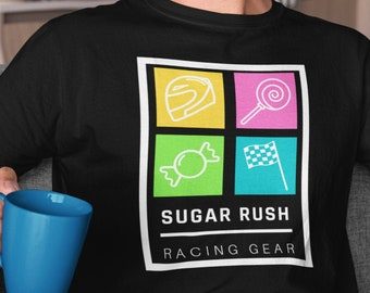 Disney Wreck It Ralph - Sugar Rush Racing Gear - Subtle Vanellope Von Schweetz Inspired Shirt - Great Disney Gift