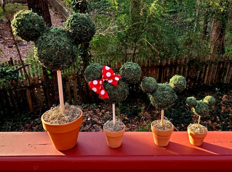 Disney Topiary  Mickey Mouse &Minnie Mouse Topiaries for image 0
