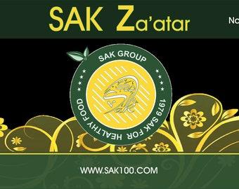 Zaatar Spice Palestinian 1st Class Ground Thyme Mix Zataar Za'tar 100g 200g 450g
