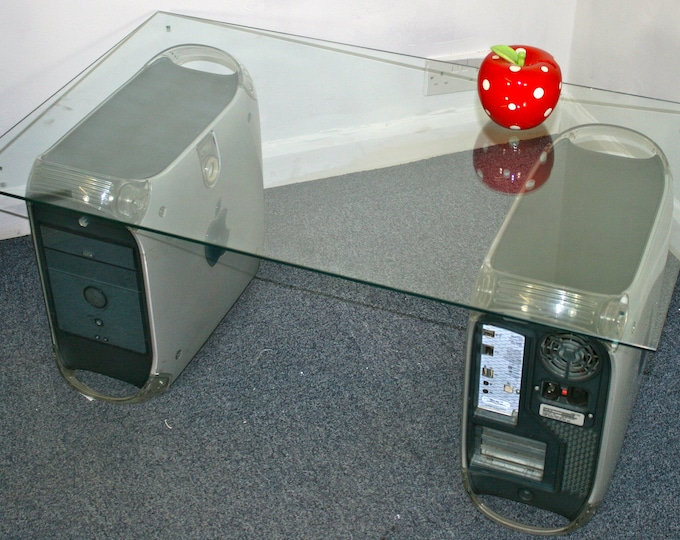 Apple PowerMac G4 Dual coffee or reception table, with table top