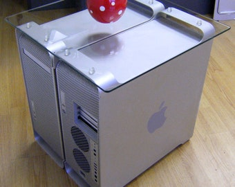 Apple PowerMac G5 Dual coffee or reception table, with table top