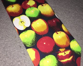 A classic Apple Tie from the Tie Studio, London