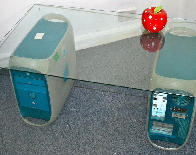 Apple PowerMac G3 Dual coffee or reception table, with table top