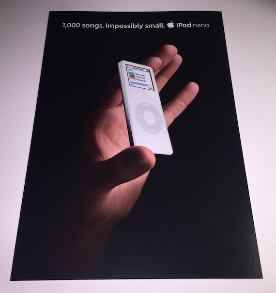 collectible ! An Apple advertising postcard for the Apple iMac G5 from 2005