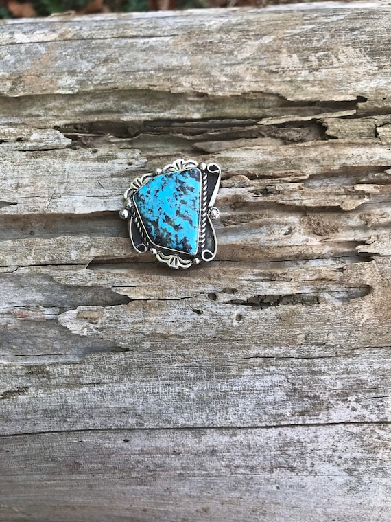 Turquoise Pin// Turquoise Hat Pin - image 6