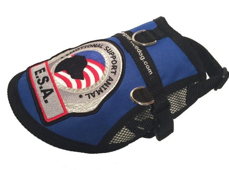 Emotional Support Dog Vest Harness for Small to Large Dogs