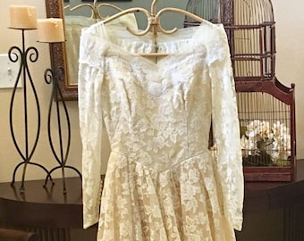 William Cahill Vintage Wedding Gown