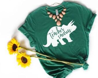 2681d49e8015 Teachersaurus T Shirt
