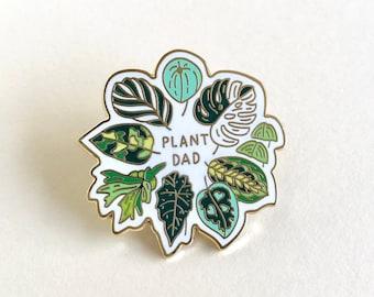 Plant Dad Enamel Pin