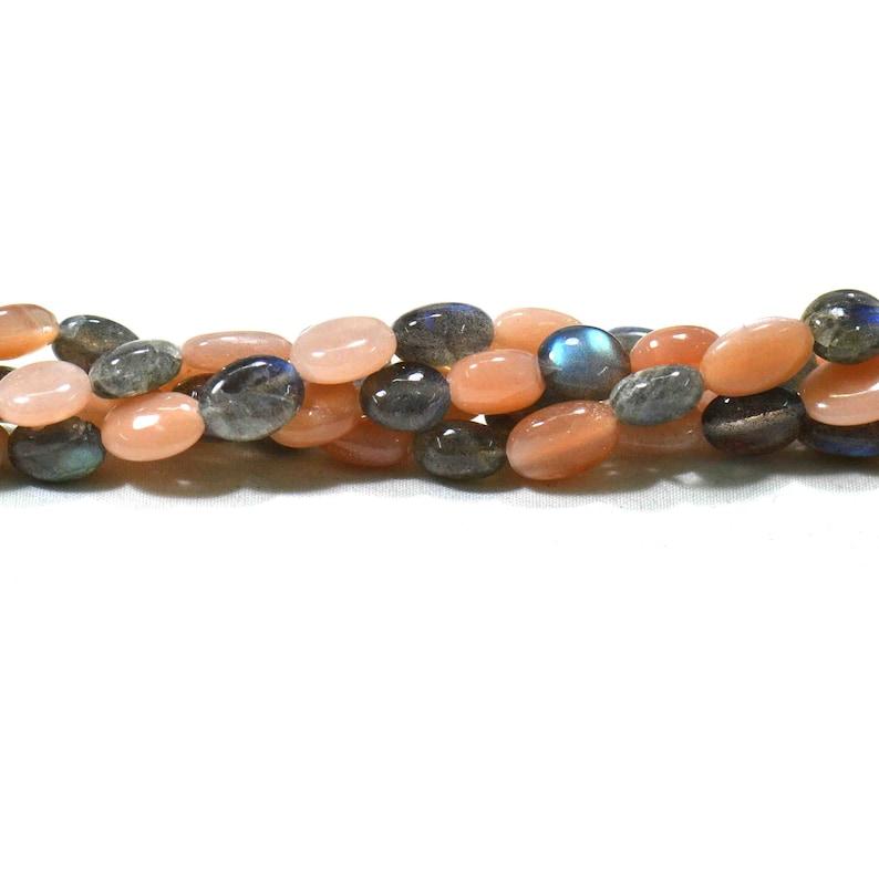Labradorite Plain Tumble 1 Strands Necklace Natural Gemstone Beads Necklace Handmade Necklace Semi Multi 18 /'/' Opal