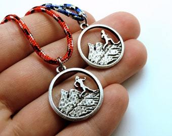 Running Necklace and Bracelet, Running Jewelry, Gift for Runner