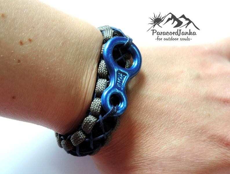 Climbing Bracelet with 8 Gift for Climbers Climbing Jewelry