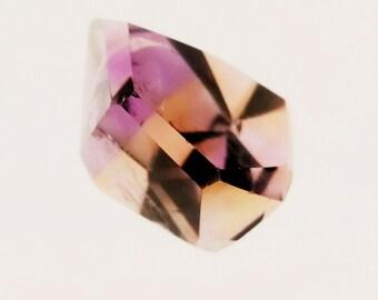 Violet/Jaune - AMETRINE - Cristal repoli - pour collection, pour tailler, pour offrir
