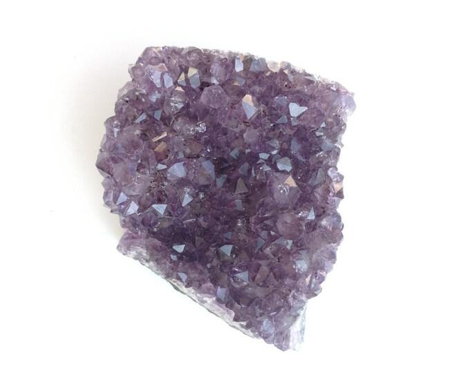 Violet/Mauve -AMETHYSTE URUGUAY - Très belle druse (Morceau de Géode brut) - Poids : 289,4 g - 46 pièces disponible au choix (me contacter)