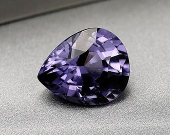 Purple / lavender SPINEL - faceted - 2.45 CTS - 9X7X4mm - mounting jewelry - Collection