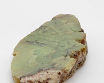 OPALE VERTE - Plaque polie - 396 g