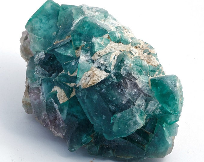FLUORITE - lovely cluster of crystals (Druzy) - 926 g