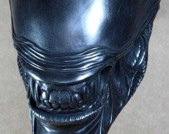 Alien Aliens metal faux Covernant prop replica H R Giger collectable sculpture