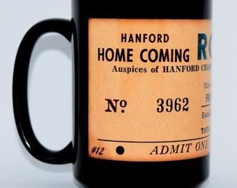 Coffee Mug • Hanford, California • Series 3, Number 12 • HANFORD HOME COMING • New