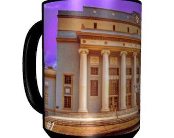 Coffee Mug • Hanford, California • Series 1, Number 1 • CIVIC AUDITORIUM • New