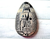 Vintage Egyptian amulet Scarab beetle