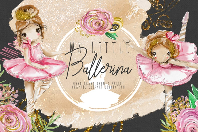 6f7c4b0df5 My Little Ballerina ballerina ballet cute girl floral