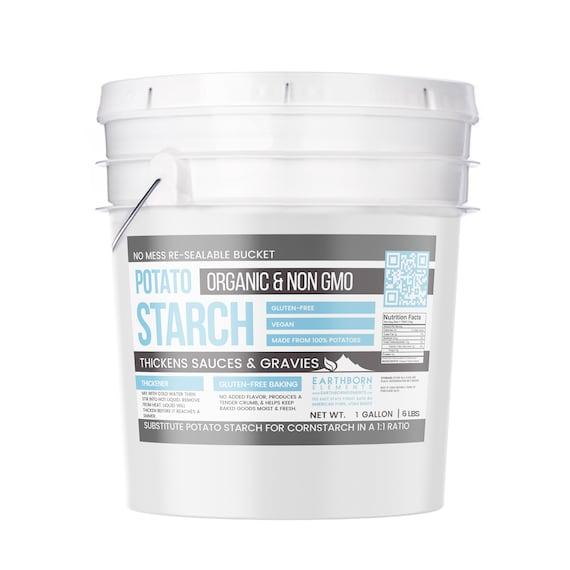 Potato Starch 1 Gallon Bucket, (6 5 Lbs)