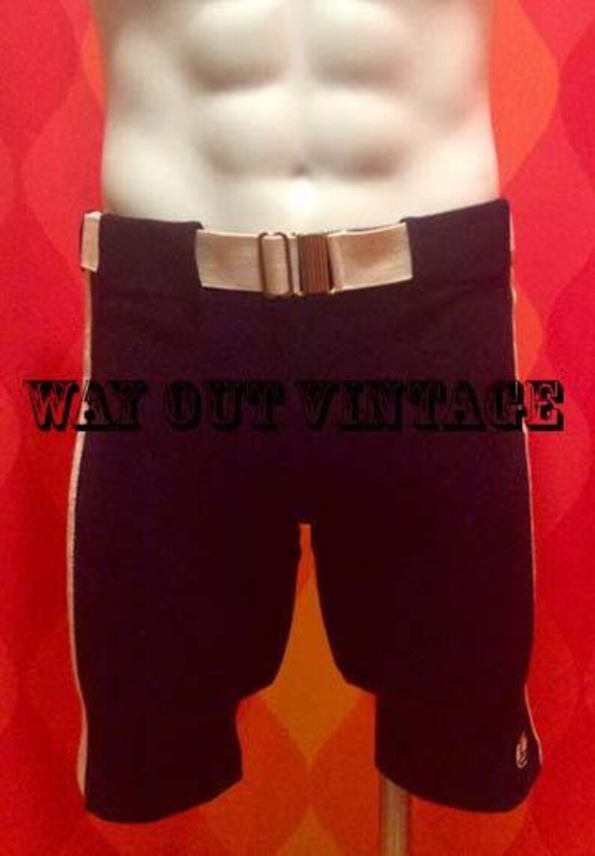 9fe81e6ea49ac 50's Vintage Mens Catalina Knit Swim Shorts Trunks Dead | Etsy