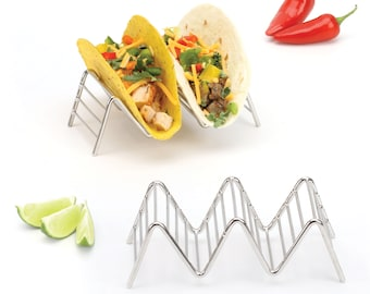 Taco Holders / Stands (2 Pack - Holds 2-3 Tacos Each)