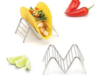 Taco Holders / Stands (2 Pack - Holds 1-2 Tacos Each)