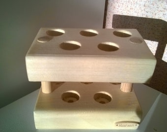 wooden stand for spices
