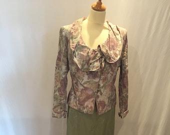 Paule Vasseure 3-Piece Vintage Designer Silk Formalwear