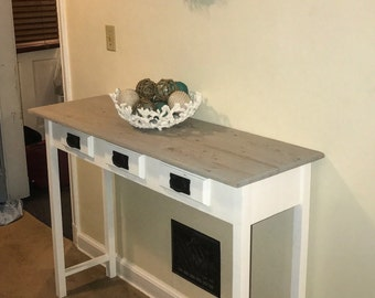 made to order entryway table