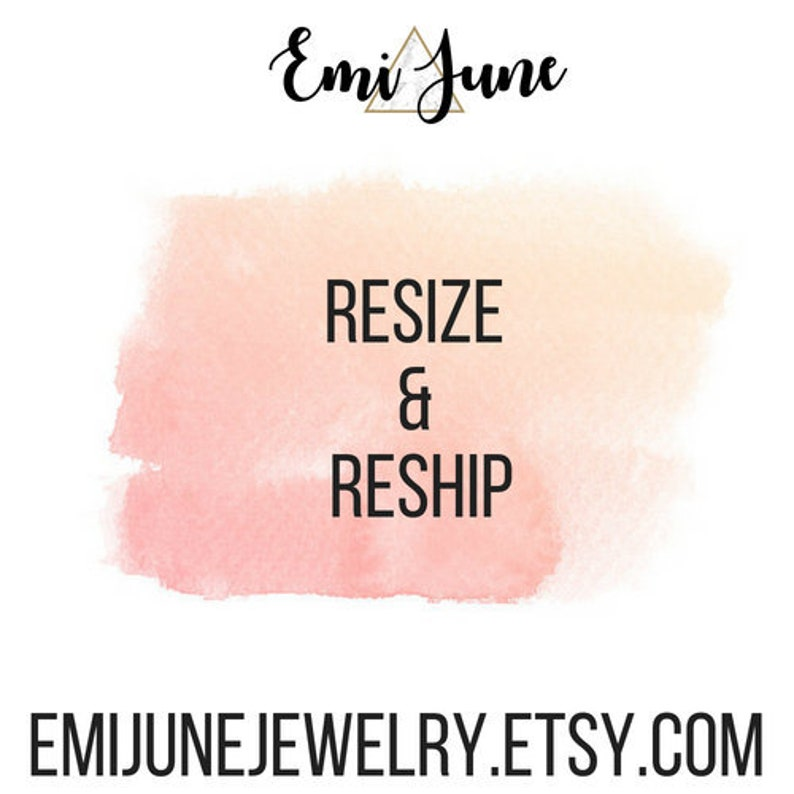 Resize /& Reship